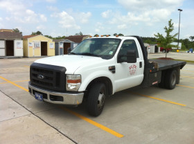 1 Ton Flatbed for Hot Shot Deliveries - Equipment